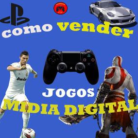 Como Vender Jogos De Midia Digital Ps3 Ps4 (brinde)