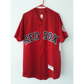 Camisola Jersey Boston Red Sox Medias Rojas Bordada Nacional 8c0706687d673