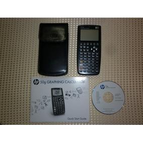 Calculadora Graficadora Hp 50g Con Estuche, Manual Y Cd