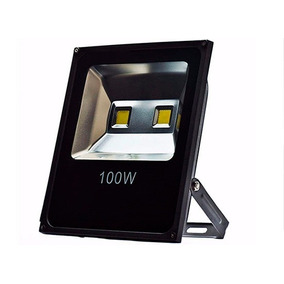 Refletor Led 100w Azul 1 Ano Garantia