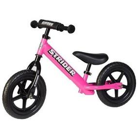 Bicicleta Strider De Equilibrio Plt Rin 12 Rosada Para Niña