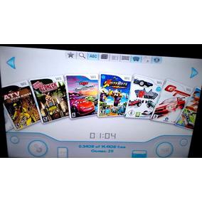 Hd Externo 500gb Lotado De Jogos Nintendo Wii Com Garantia