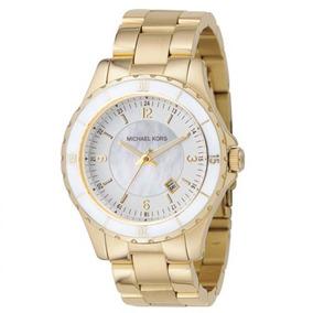 Relógio Michael Kors Feminino Dourado Original C/nf Mk5174