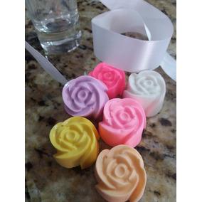 .kit 300 Mini Flores De Sabonete Para Lembrançinhas 15 Anos