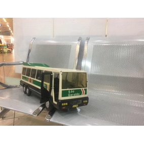 Miniatura Ônibus São Geraldo Ferro/ Lata Bandeirante Ori