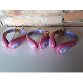 Fones De Ouvidos Rosa Infantil Valor Para Todos