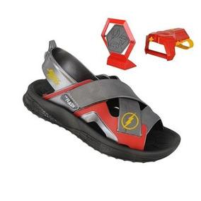d7c726c1f Sandalia Liga Justiça Grendene Kids - Sapatos Preto no Mercado Livre ...