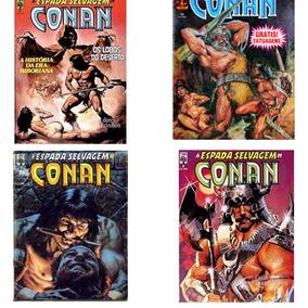 Revistas A Espada Selvagem De Conan Coleção Com 10 Revista