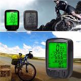 Velocímetro Digital Odômetro Bike Luz Noturna À Prova D