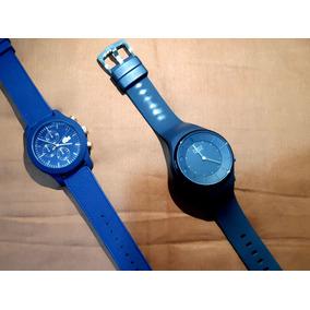 Relogio Original Lacoste Azul (sport) + Brinde