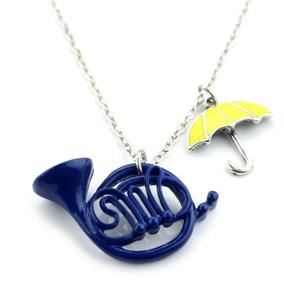 Collar How I Met Your Mother Envio Gratis Trompeta Azul Dije