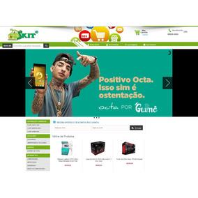 Loja Virtual + Hospedagem + Registro Dominio