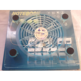 Base Para Laptop Fan Cooler 1 Ventilador 1 Puerto Usb