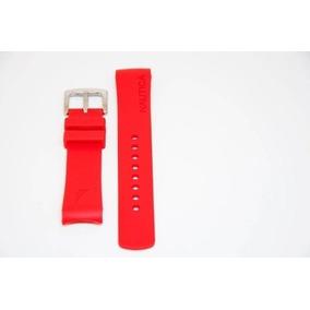 ed16d7bce02 Vendo Relógio Nautica Pulseira Vermelha - Relógios no Mercado Livre ...