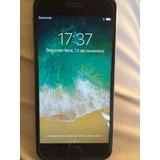 Smartphone Apple iPhone 6 16gb - Prata Com Tela Preta Usado