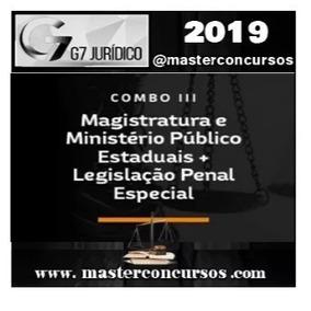Curso Magistratura + Mp + Lpe G7 Juridico 2019