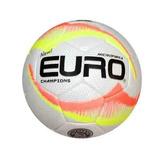 Bola Euro Futsal Champions Costurada À Mão Microfibra 52d43f409a2f7
