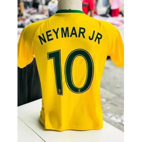 Kit 10 Camisa Camiseta Copa Brasil Neymar Promoção