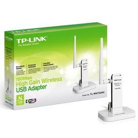Adaptador Wireless Usb 150mbps Tl-wn722n Tp-link Original