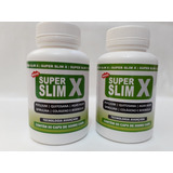 Kit 2 Frascos Super Slim X 120 Capsulas