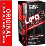 Lipo 6 Black Ultra Concentrado 60 Formula Americana Original