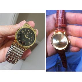 d279a236c21 Relógio Feminino Ouro Potenzia Ladies Fashion Dourado 30m