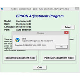 Reset Epson L575 Ilimitado Licencia 1pc
