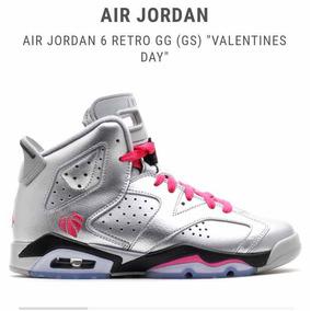 f13197b6aac Jordan Retro 6 Día De San Valentín Semi Nuevo Sin Detalles