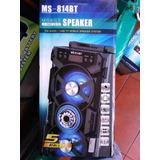 Se Vende Parlante Bluetooth Karaoke Con Micorofono