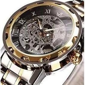 76f30fa457b Relogio Alps De Luxo Skeleton Gold - Automático · R  220. 12x R  21. Frete  grátis