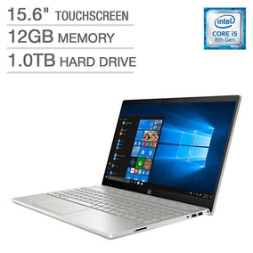 Notebook Hp 15,6 Touch Intel Core I5 8th - 12gb - 1tb Hd