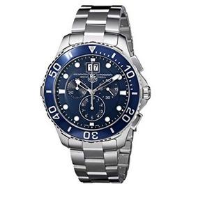 1166d84d769 Relogio Tag Heuer Fundo Azul - Joias e Relógios no Mercado Livre Brasil