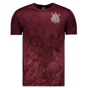 Camiseta Corinthians St Jorge Bordô