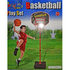 Juego De Basquet Basketball Play Set King Sport Casa Valente