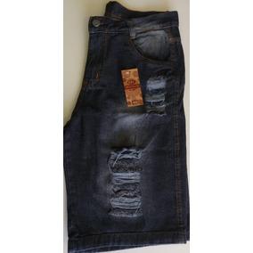 Bermuda Jeans Rasgado