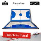 ddfc5d5f7f Prancheta Tática Futsal Magnética  Caneta   Apagador E Ímã