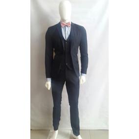 4a2db2e5ce30f Pantalon De Vestir Caballero Corte Slim Fit