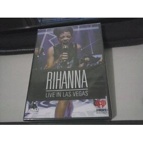 Rihanna - Live In Las Vegas - Lacrado - Frete 6,00
