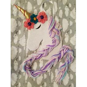 Organizador Porta Moños Unicornio Para Niñas