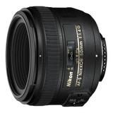 Lente Nikon Af-s 50mm F/1.4 G + Parasol + Bolso Reflex