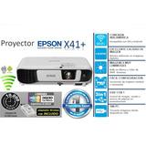 Proyector Epson X41+ Powerlite 3600 Lumenes Wifi Hd Cuotas