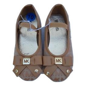 Michael Kors Zapatos Niña Café 100% Original