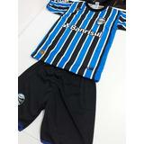 Conjunto Infantil Gremio Camisa + Calção Black Friday