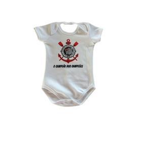 Body Do Corinthians Menino - Bodies de Bebê no Mercado Livre Brasil bb47a916fcea2