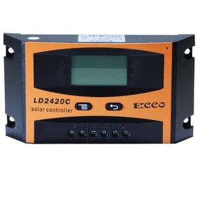 Controlador De Carga 30a 12v/24v Regulador Sistema Solar