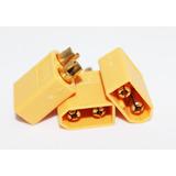 Conector Xt60 Macho (amarillo)