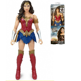 Mujer Maravilla Liga De La Justicia Orig Dc 30cm Mattel