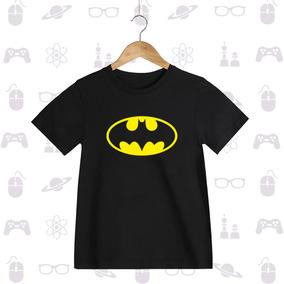 Playera Niño Superheroes Batman Flash Linterna Superman
