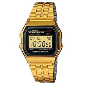 12494853bec Relógio Casio A159wgea 1df Dourado Melhor Preço Saldão - Relógios no ...