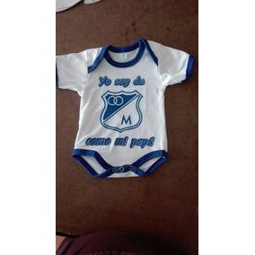 d530e6896 Maniseta Bebe Tipo Polo Cuello Tejido Talla 6 12 Color Blanc por Babymarket.  1 vendido · Body Camiseta Mameluco Bebe Millonarios 2018
